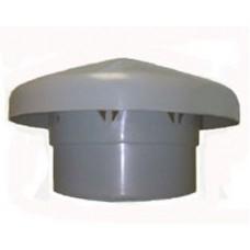 Выпуск вентиляционной трубы, серый 160