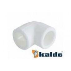 Kalde WHITE Колено 20х90 (100/400)