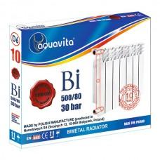 Биметаллический радиатор Aquavita 500/80