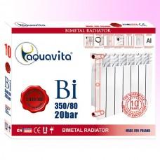Биметаллический радиатор Aquavita 350/80