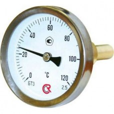 Термометр задн. подкл.1/2 Ø63мм 120ºC штуцер 50мм