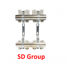 Коллектор SD Group на 2 выхода без расходомеров