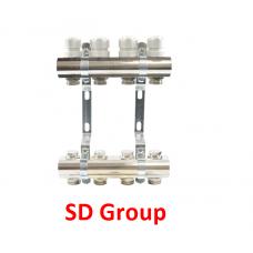 Коллектор SD Group на 10 выходов без расходомеров