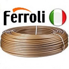 Труба для теплого пола Ferroli 16x2.0 Pex-A с кислородным барьером