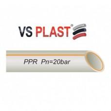 Трубы VS Plast FR-PPR Fiber PN25 40x6.4