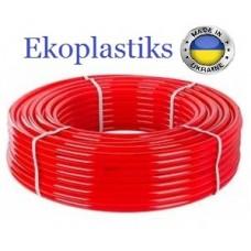 Труба Ekoplastiks 16x2.0 PE-RT с кислородным барьером