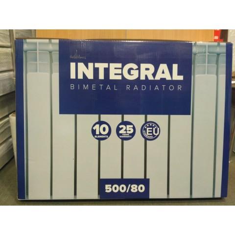 Биметаллический радиатор отопления Integral 500/80